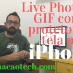 Live Photo ou GIF como protetor de tela iPhone