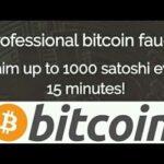 SCAM – Ganhe até 0.00001000 BTC a cada 15 minutos – Bitcoin Gratis